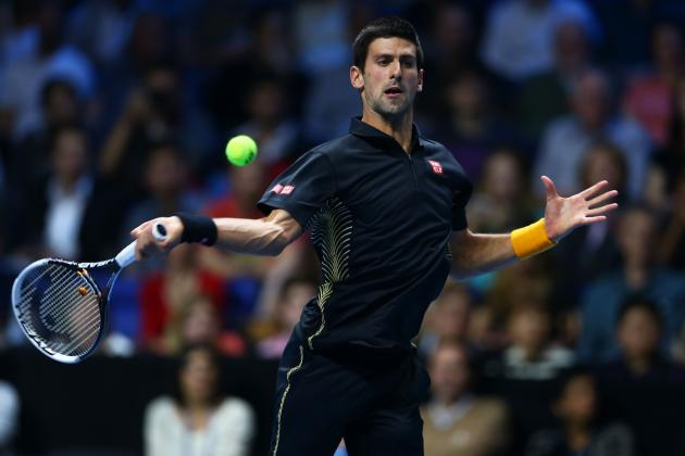 Novak Djokovic Defeats Jo-Wilfried Tsonga at 2012 ATP World Finals