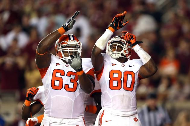 ACC Honors Tajh Boyd, Brandon Thomas
