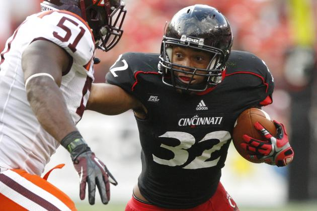 Cincinnati Bearcats Football: Winn and Abernathy Form Dynamic Running Back Duo