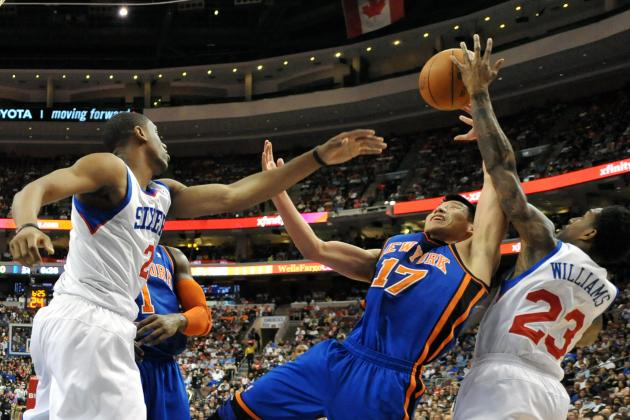 NBA Gamecast: Knicks vs. 76ers