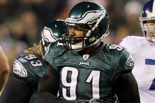 With Wife Giving Birth, Eagles' Darryl Tapp out Tonight