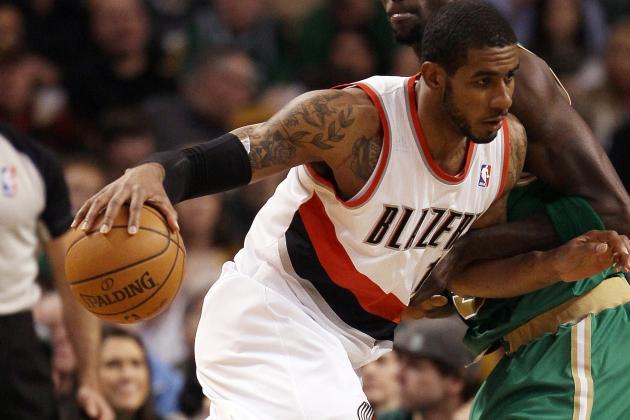 NBA Gamecast: Blazers vs. Mavs