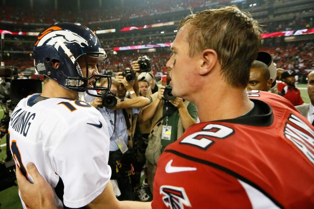 Matt Ryan vs. Peyton Manning: Who Is the NFL MVP Right Now?