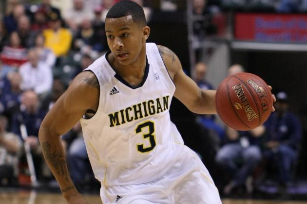 Trey Burke Shows No Rust as No. 5 Michigan Pummels Saginaw Valley State