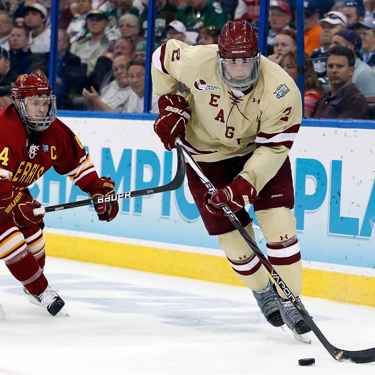 College Hockey Power Rankings: Boston College Still On Top
