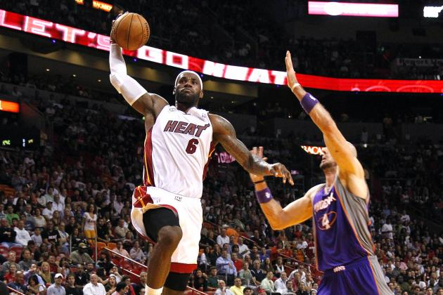 Phoenix Suns vs. Miami Heat: Live Score, Results and Game Highlights