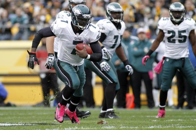 Eagles Can Dump Michael Vick for Nick Foles, but O-Line Spells Doom Either Way