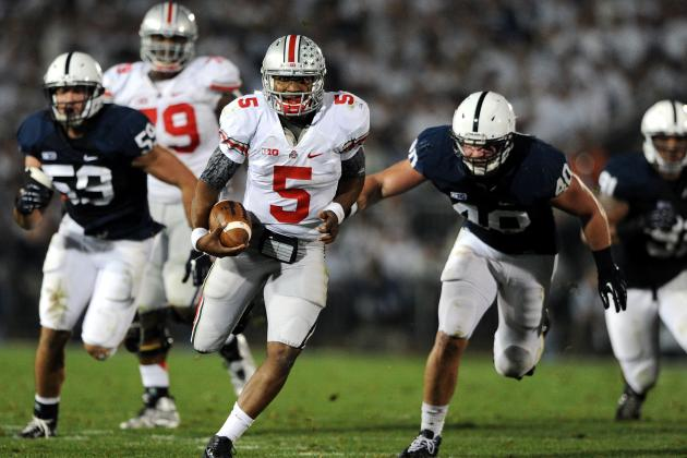 Ohio State Football: Braxton Miller's Top 10 Plays Through 10 Games This Season