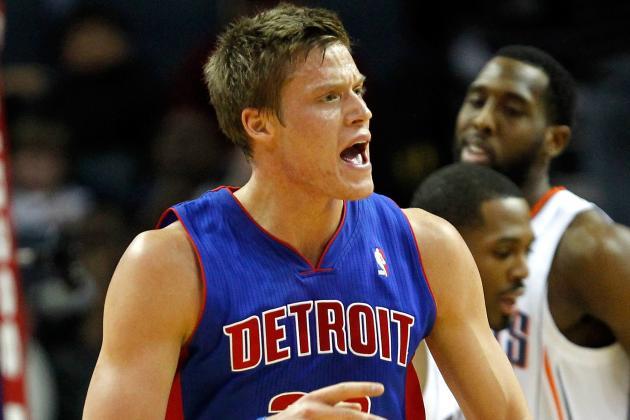 Jonas Jerebko is getting the job done for his Detroit Pistons