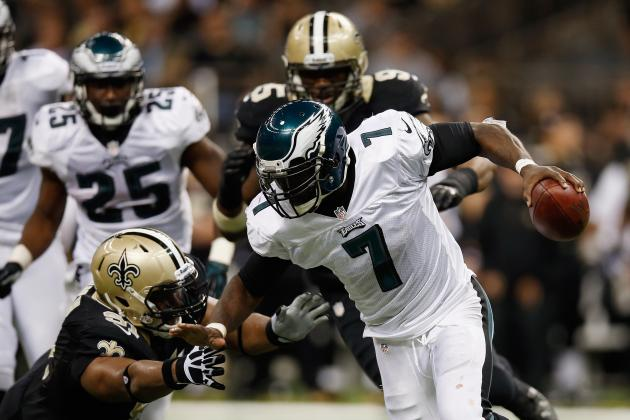 Michael Vick: QB Change Won't Fix Broken Eagles Offense
