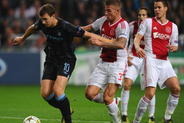 Manchester City vs. Ajax: Date, Time, Live Stream, TV Info and Preview