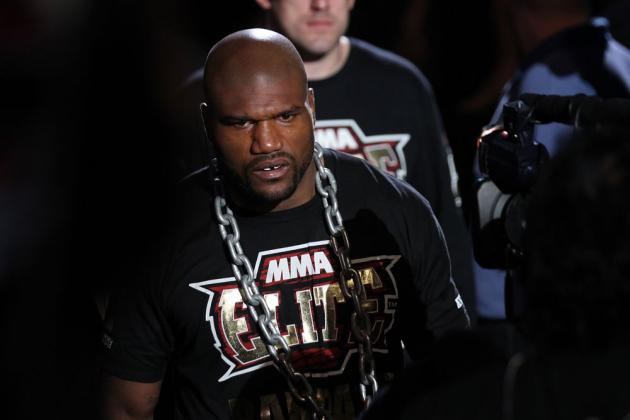 Rampage Jackson: Anyone Who's Not a Bigot Knows I Beat Forrest Griffin