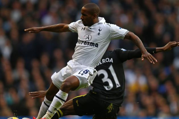 Andre Villas-Boas of Tottenham Upset Jermain Defoe Sulked off
