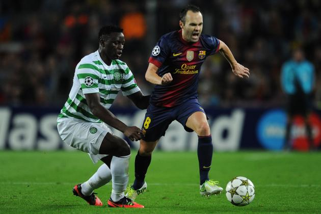 Celtic vs. Barcelona: Date, Time, Live Stream, TV Info and Preview