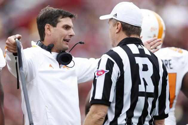 Tennessee Coach Derek Dooley Stepping into Bigger Role in Struggling Defense