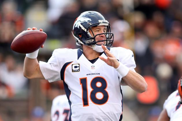 Peyton Manning: Projecting How Broncos QB Will Fare over Season's Second Half