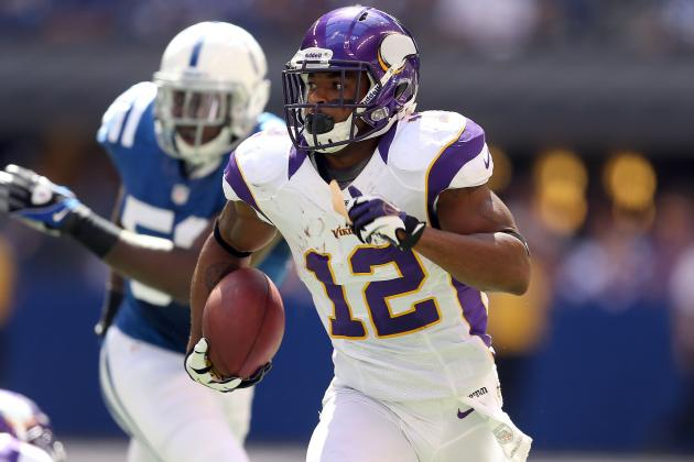 Percy Harvin: Fantasy Backup Plans in Case Vikings WR Doesn't Play in Week 10