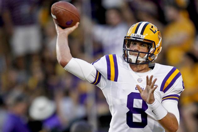 LSU Football: Did the Real Zach Mettenberger Show Up Against Alabama?