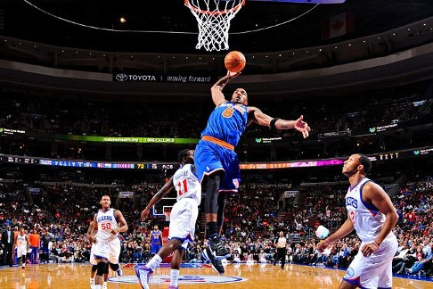 J.R. Smith Wins NBA Player of the Night After Propelling NY Knicks to 3-0 Start