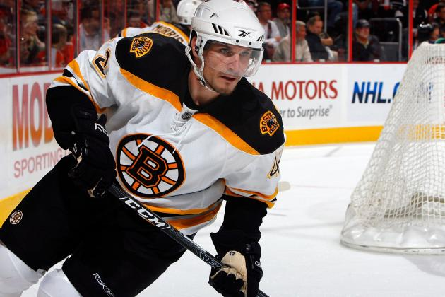 Boston Bruins: Will the 2012-13 Season Be Trent Whitfield's Last?