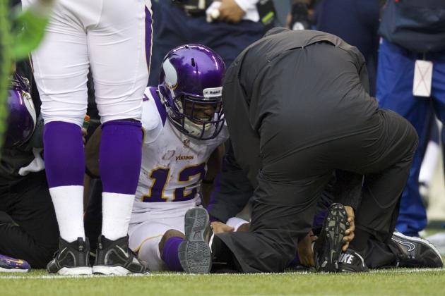 Percy Harvin's Injury Means Vikings WRs Need to Step Up & More NFC North News
