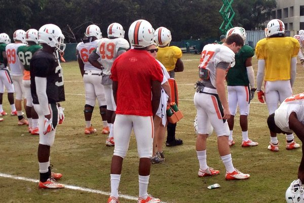 Updates on Bush, Perryman from UM Practice