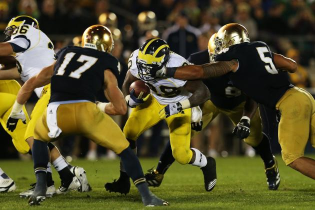 Michigan Football: How Switch to Pro-Style Attack Will Cure Tailback Woes