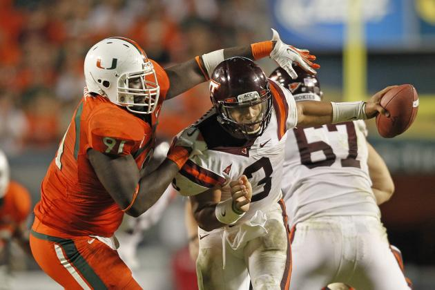 Miami Loss Still Stings for Hokies' Thomas