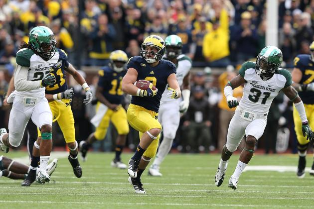 Michigan Football: Drew Dileo Has Become an X-Factor, One of Wolverines' Top WRs