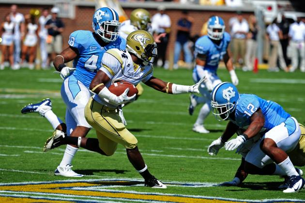 North Carolina Tar Heels prepare for Georgia Tech's triple option