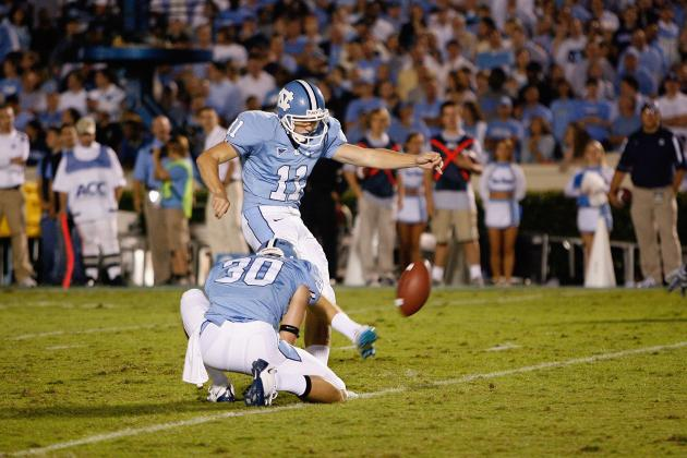 UNC's Barth Named a Lou Groza Award Semifinalist
