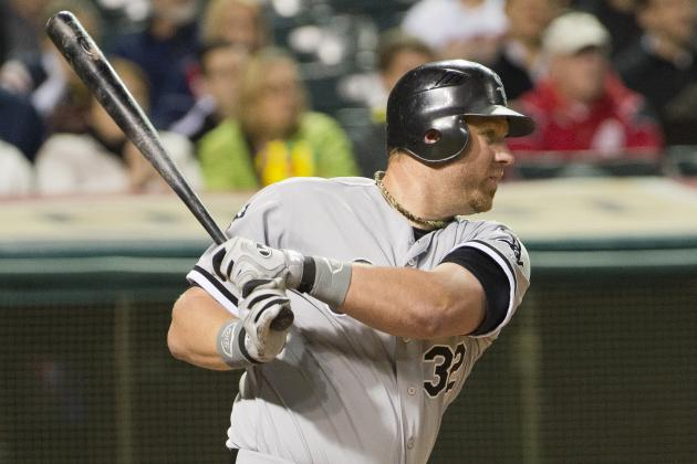 White Sox Slugger Dunn Gets 2nd Comeback Award