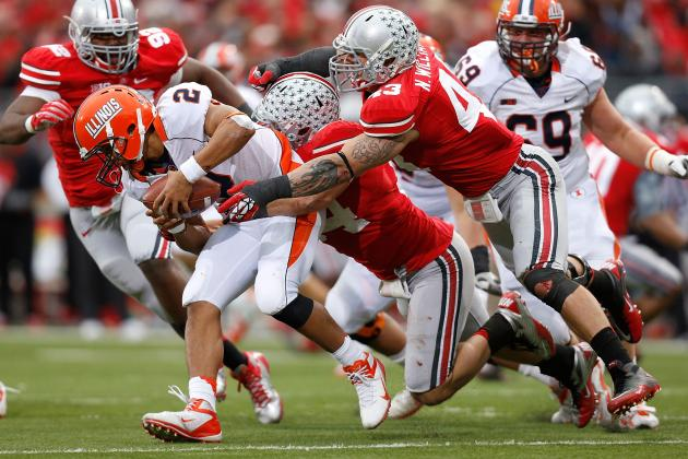 Illinois Gives Up Big Ten-Worst 32 Sacks, Has Seen O Dialed Back to Protect QB