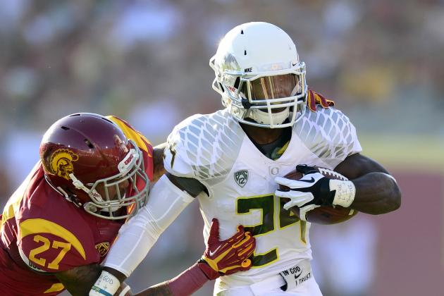Oregon Ducks Football: How Does Oregon Spring Kenjon Barner for Big Games?