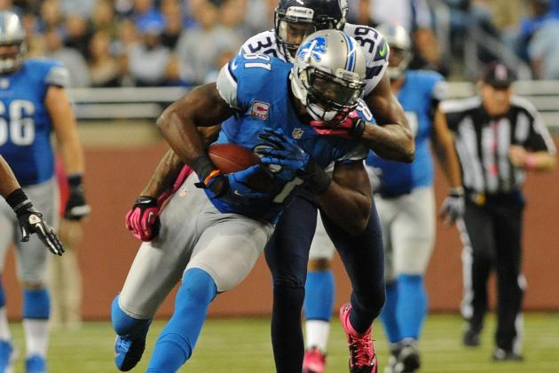 Calvin Johnson Shines for Detroit Lions Despite Limits