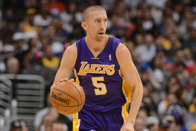 NBA Fines Lakers' Steve Blake for Swearing at a Fan