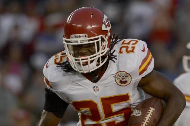 Jamaal Charles: Examining Chiefs RB's Fantasy Trade Value