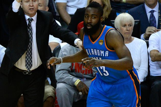 James Harden Disappointed Thunder Didn't Give Him More Time