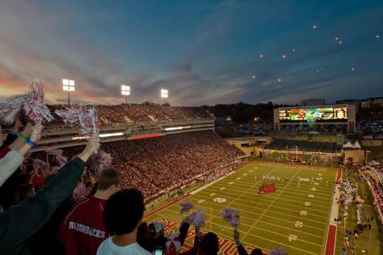Ark. Schedules Home-and-Home Series with Michigan