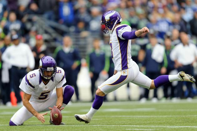 2012 Fantasy Football Week 10: Kicker Rankings and Projections