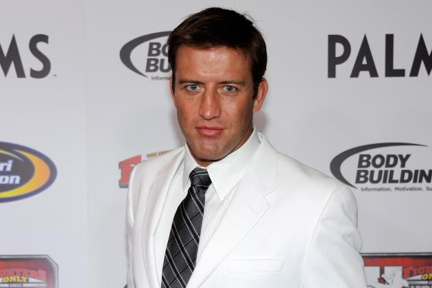 Stephan Bonnar Reportedly Suspended 1 Year over Failed Drug Test