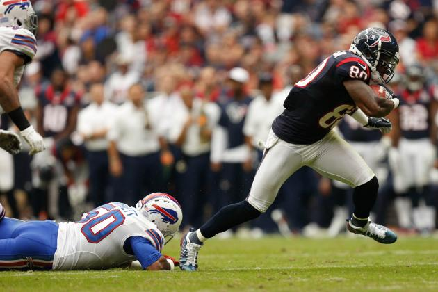 2012 Fantasy Football Week 10: Wide Receivers (WR) Rankings / Projections