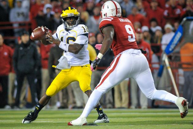 Michigan Football: Wolverines Will Fall Short of Big Ten Title Game