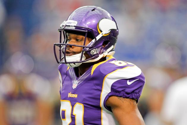 Jerome Simpson: Updated Fantasy Outlook & Analysis for Vikings WR