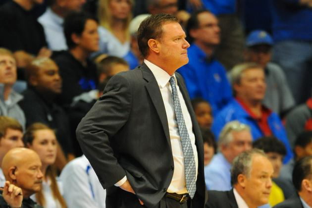 KU Basketball Will Be Sorting Out Its Rotation Early in Season