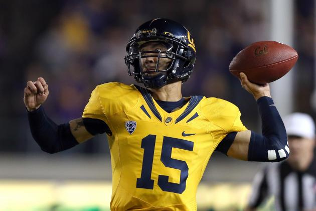 Cal Quarterback Uncertain for Oregon Game