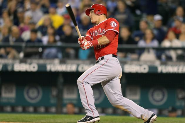 Players Select Trout for AL's Outstanding Rookie