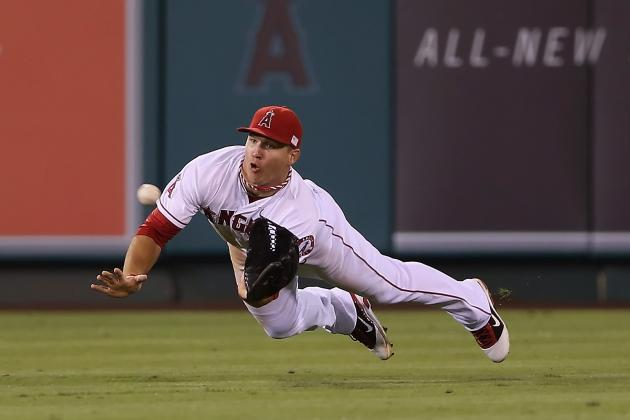 Wilson Names Trout Top Defensive Player in AL