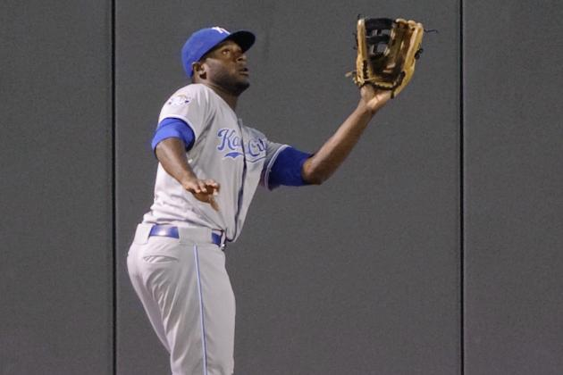 Cain Named Royals' Top Defensive Player