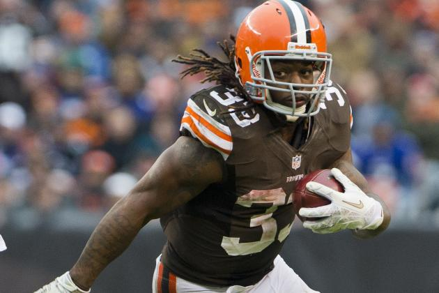 Trent Richardson: Browns Can Write Their Own Story over Last Seven Weeks